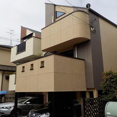 世田谷区 H様邸屋根外壁他塗装工事