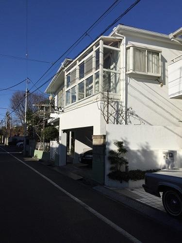 世田谷区 桜 外壁塗装工事